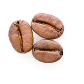 Three coffee beans — Stock Photo