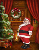 Toon Santa — Stock Photo