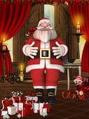 Toon Santa — Foto Stock