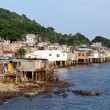 Stock Photo: Fishing village of Lei Yue Mun in Hong Kong