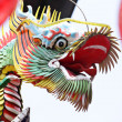 Traditional chinese dragon sculpture — Stock Photo