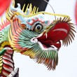 Traditional chinese dragon sculpture — Stock Photo #6881124