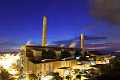 Power Plant at night — Stock Photo