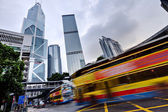 Hong Kong rush traffic — Stock Photo
