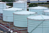 Oil storage tank — Stock Photo