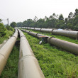 Stock Photo: Industrial pipeline