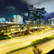 Modern urban landscape at night — Stock Photo #6958825