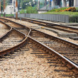 Train Rails — Stock Photo #7026074