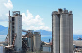 Cement factory — Stockfoto