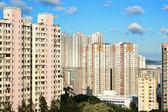 香港拥挤的建筑 — 图库照片