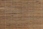 Bambusové prostírání textura — Stock fotografie