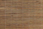 Trama tovaglietta di bambù — Foto Stock