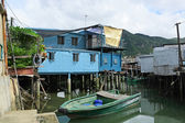 Tai O, A small fishing village in Hong Kong — Stock Photo