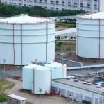 Petrol tanks — Stock Photo