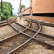 Stock Photo: Train Rail