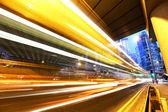 Autostrady w nocy — Zdjęcie stockowe