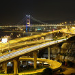 Freeway and bridge - Foto Stock