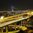 Freeway and bridge - Stockfoto