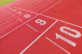 Běžecká dráha — Stock fotografie