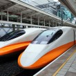 Modern high speed train — Stock Photo #7693382