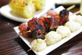 Barbecue food from japan — Stock Photo