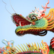 Asian temple dragon — Stock Photo