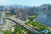 Tsuen Wan in Hong Kong — Stock Photo