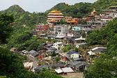 Jinguashi village , in Taiwan — Stock Photo