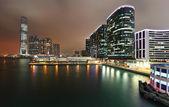 Kowloon night view — Stock Photo