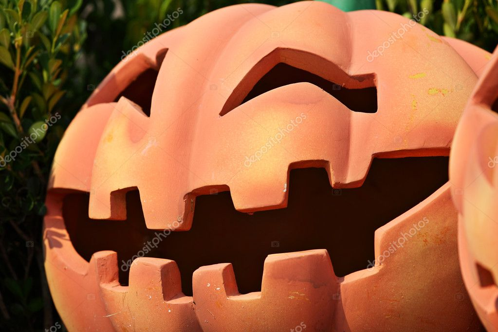 Pumpkin face — Stock Photo #7905332