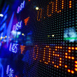 Stock market price display abstract — Stock Photo #7935350