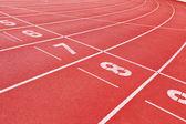 Pista de atletismo — Foto de Stock