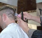 La coiffure de l'art des cheveux — Photo