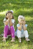 Children miss — Stock Photo