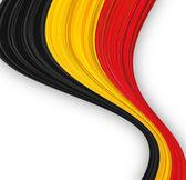 Belgian flag. — Stock Vector