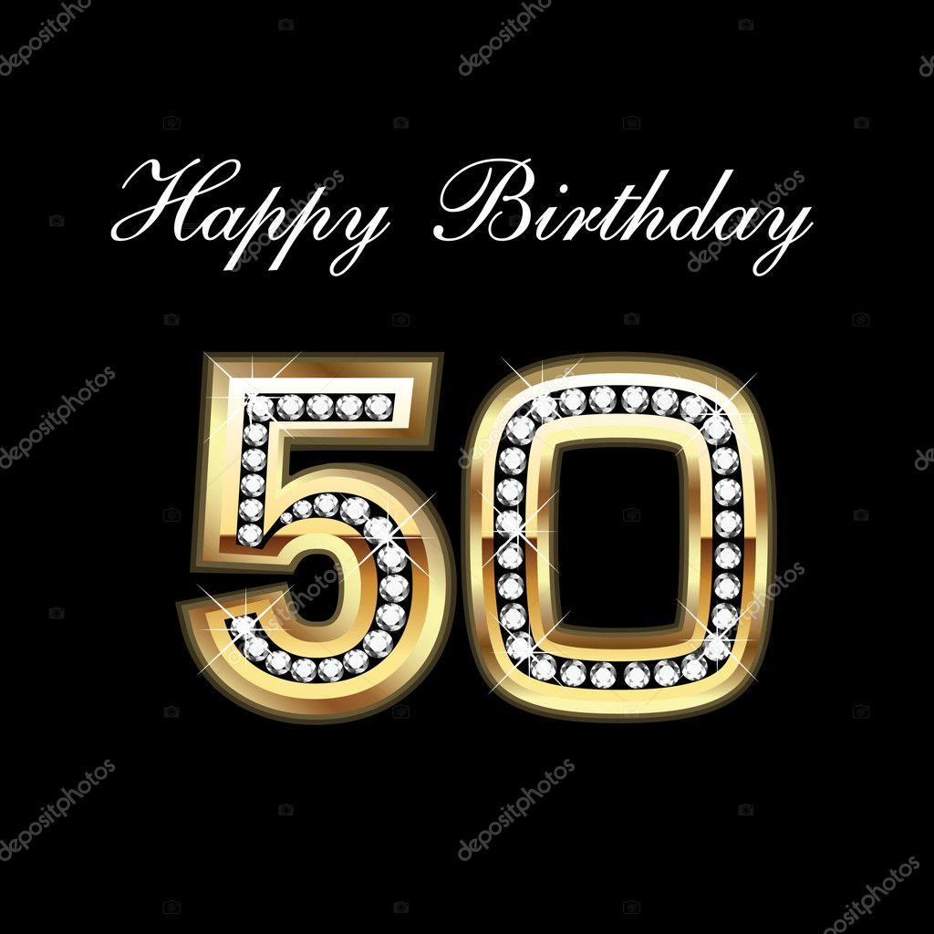 Happy 50th Birthday Cakes