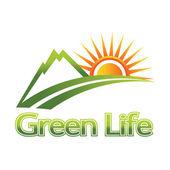 Green Life — Vettoriale Stock