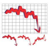 Stock index arrow — Stock Vector