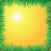 Východ slunce pozadí — Stock vektor