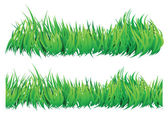 Seamless natural looking grass — Vettoriale Stock