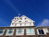Close-up of Historic Claremont Hotel — Stock Photo