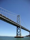Bay Bridge viewed from the water — Stock Photo