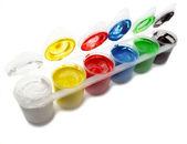 Kleurrijke verf — Stockfoto