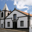 Small white church on Azores — Stock Photo