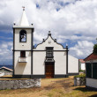 Small white church — Stock Photo