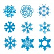 Snow flakes — Stock Vector #6901492
