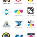 Company_logos_print_design — Stock Vector #6901689