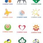Company_logos_symbols — Stock Vector