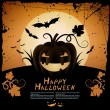 Halloween illustration — Vector de stock #6747394