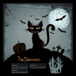 Halloween illustration - Imagen vectorial